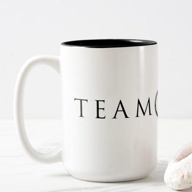 Team Black Coffee Cup